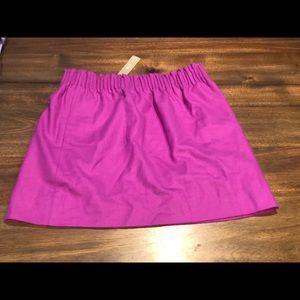 JCrew City Mini Skirt